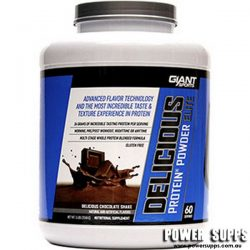 Giant Sports Delicious Elite Protein  Raspberry White Chocolate 5lb