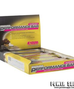 Endura Performance Bar Box Raw Fruit and Nut 10 × 60g Bars