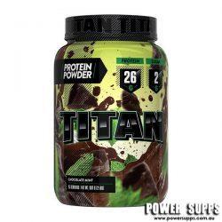 Titan protein Chocolate Mint 907g