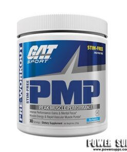 GAT PMP STIM FREE Orange Cream 30 Serves