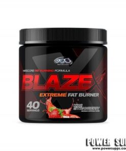 OCD Nutrition Blaze Extreme Fat Burner Red Raspberry 40 Serves