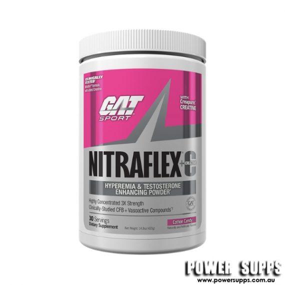 GAT Nitraflex + Creatine Cotton Candy 30 Serves