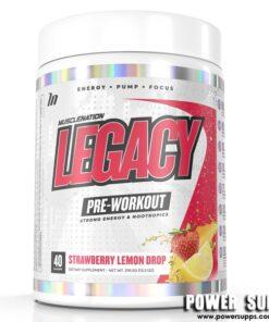 Muscle Nation Legacy Pre Workout Candy Blue Raz 40 Serves