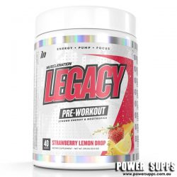Muscle Nation Legacy Pre Workout Candy Blue Raz 40 Serves