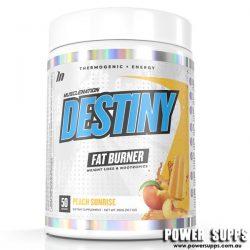 Muscle Nation Destiny Fat Burner Peach Sunrise 50 Serves