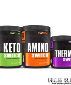 Switch Nutrition KETO + AMINO 60 + THERMAL   40 + 60 + 40 serves