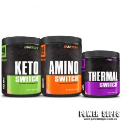 Switch Nutrition KETO +AMINO 60 + THERMAL  40 + 60 + 40 serves