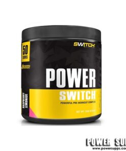 Switch Nutrition POWER SWITCH Raspberry Lemonade 30 Serves