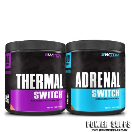Switch Nutrition THERMAL + ADRENAL 60  40 + 60 serves