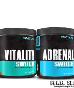 Switch Nutrition VITALITY + ADRENAL 60  30 + 60 serves