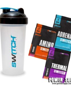 Switch Nutrition Sample Pack  Shaker + 3 samples