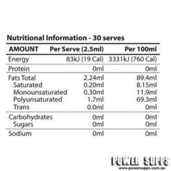 atp science aurum oil ingredients