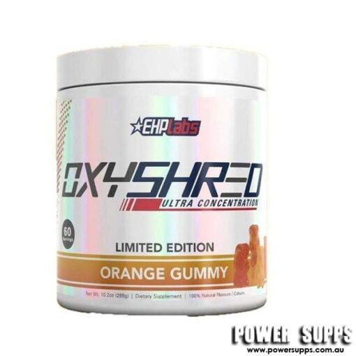 EHPLabs OxyShred - Orange Gummy Bear Orange Gummy Bear 60 Serves