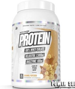 Muscle Nation WPI Protein  Caramel Popcorn 900g