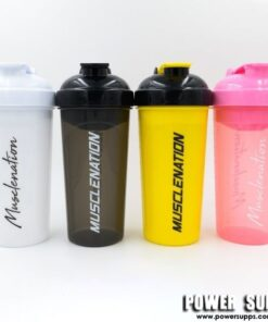 Muscle Nation Shaker Clear Black 700ml
