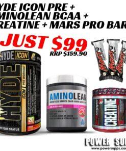 ProSupps Mr Hyde ICON + JDN Aminolean + Creatine + Mars Bars