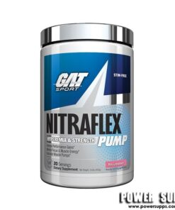 GAT Nitraflex PUMP Fruit Punch 20 Serves