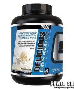 Giant Sports Delicious Elite Protein Raspberry White Chocolate 5lb