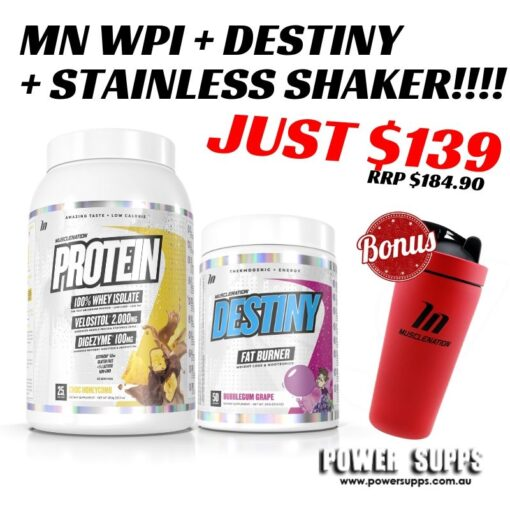 MUSCLE NATION WPI DESTINY FAT BURNER