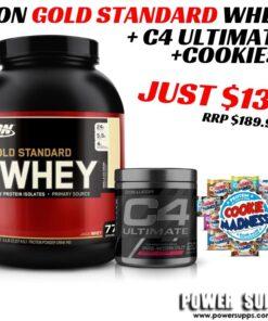 Optimum Nutrition Gold Standard Cellucor C4 Ultimate