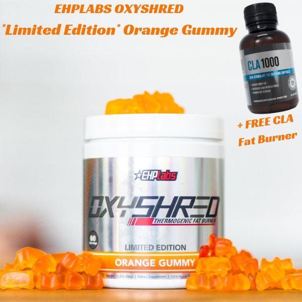 EHPLABS OXYSHRED Limited Edition Orange Gummy