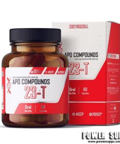 APO COMPOUNDS 23-T PCT  60 Capsules