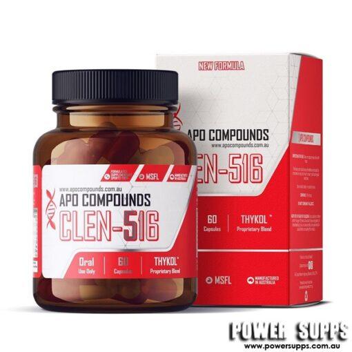 APO COMPOUNDS CLEN-516 Fat Loss  60 Capsules