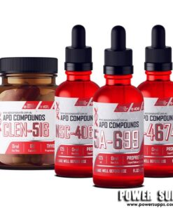 APO COMPOUNDS FULL RECOMP STACK  NSC-4060 + 5A-699 + CLEN-516 + N-4674