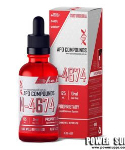APO COMPOUNDS N-4674 Fat Loss  125ml