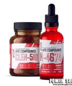 APO COMPOUNDS SHRED STACK  CLEN-516 + N-4674