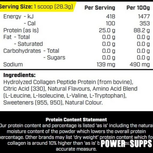 cyborg sport collagen pro ingredients
