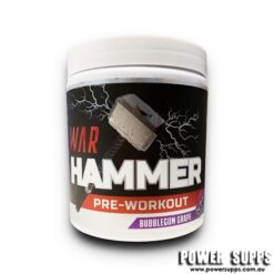 International Protein War Hammer Candy Cane with Popping Candy 30 Serves