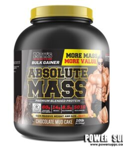 MAXS Absolute MASS Vanilla Ice Cream 10lb