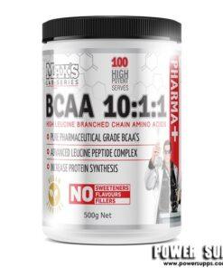 MAXS BCAA 10.1.1 Unflavoured 100 Serves