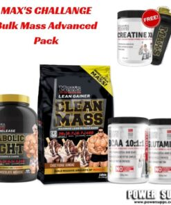 maxs challenge Bulk Mass Advanced Pack