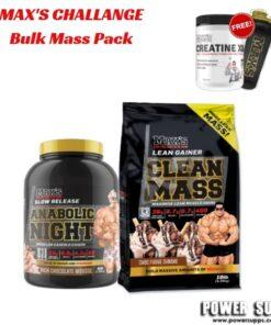 maxs challenge Bulk Mass Pack