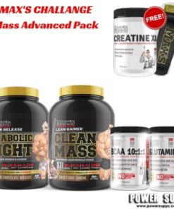 maxs challenge Mass Advanced Pack
