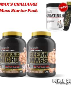 maxs challenge Mass Starter Pack