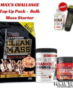 maxs challenge Top Up Pack Bulk Mass Starter