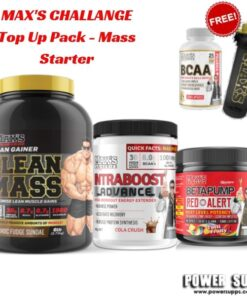 maxs challenge Top Up Pack Mass Starter