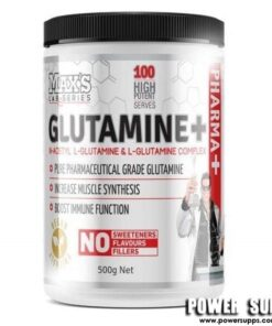 MAXS Glutamine+ Unflavoured 100 Serves