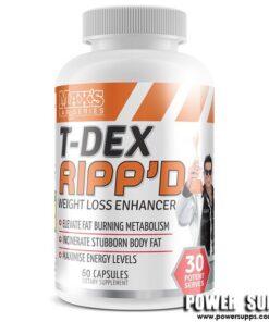 MAXS T-DEX Ripp'd Unflavoured 60 Caps