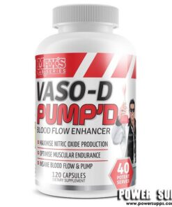 MAXS VASO-D Pump'd Unflavoured 120 Caps