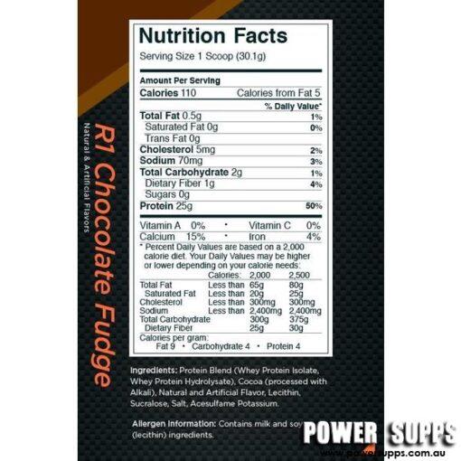 rule 1 r1 protein ingredients