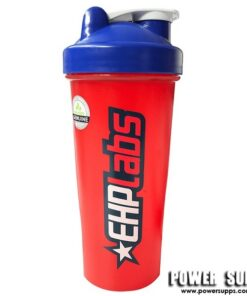 EHPLabs Shaker Blue with Red Lid 800ml