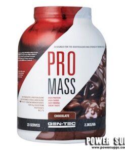 GEN-TEC Pro Mass Weight Gainer Vanilla 2.3kg/5lb