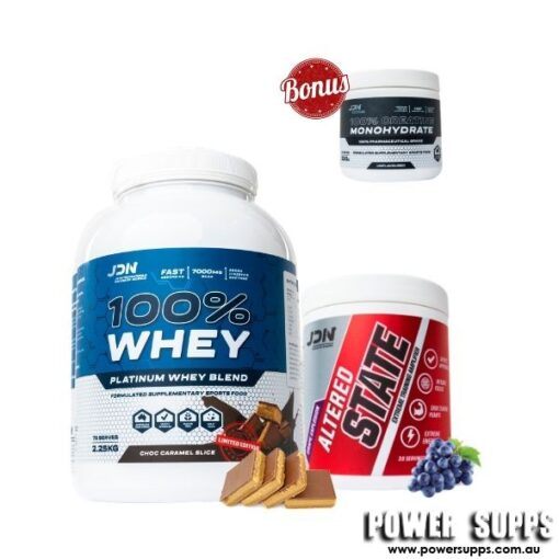jd nutraceuticals 2.25kg whey altered state creatine