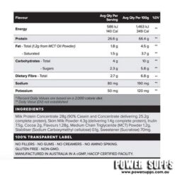 muscle nation custard ingredients