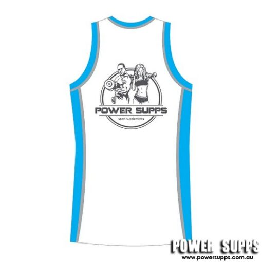 power supps basketball jersey 19 back