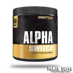 Switch Nutrition ALPHA SWITCH Unflavoured 60 Capsules